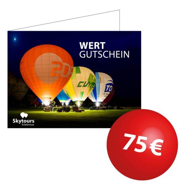 Wertgutschein 75€