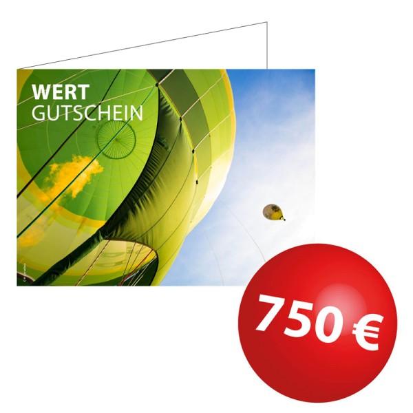 Wertgutschein 750€