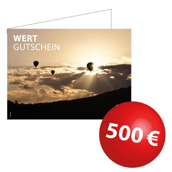 Wertgutschein 500€