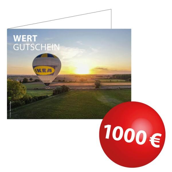 Wertgutschein 1000€
