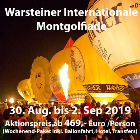 WIM Warsteiner Int. Montgolfiade 2019