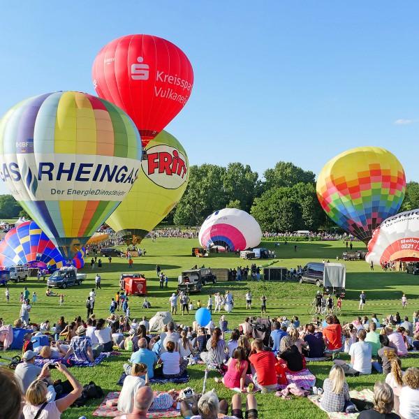 11. Ballonfestival Bonn 2019 - Morgenfahrt