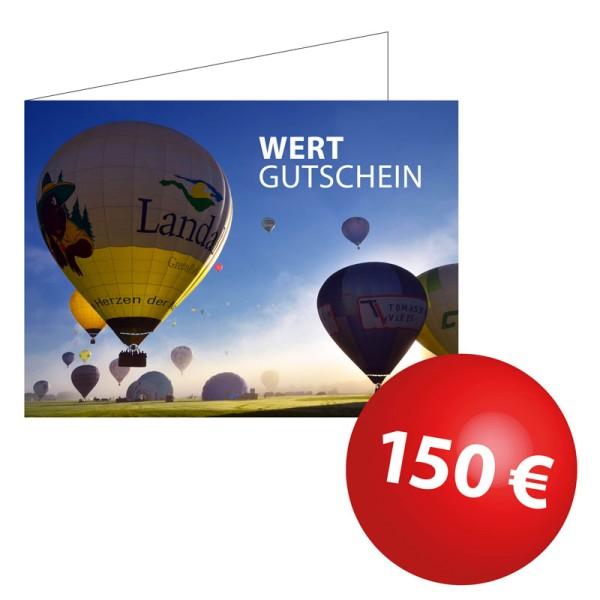 Wertgutschein 150€