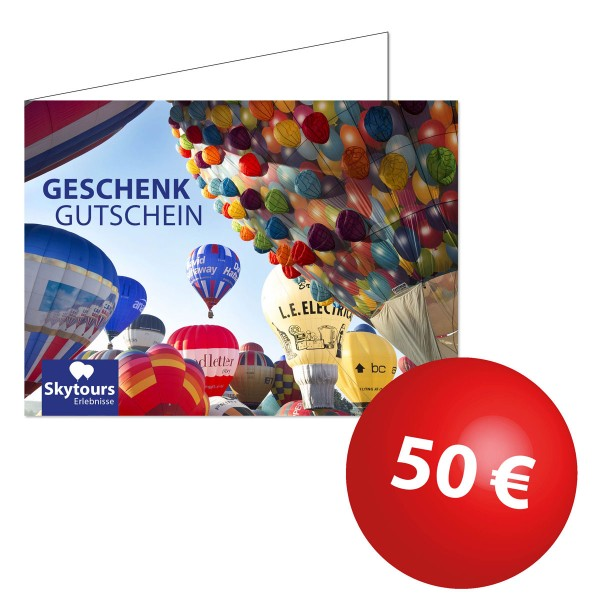 Wertgutschein 50€