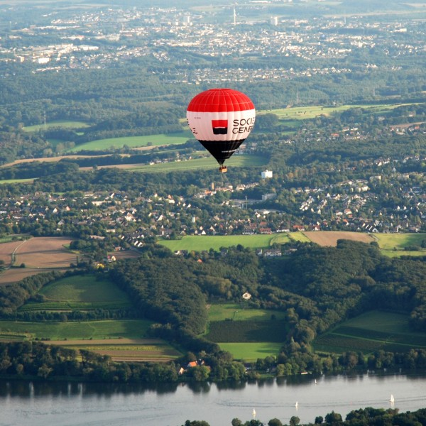 Ballon statt Balkon in Aachen