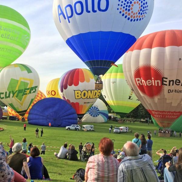 12. Ballonfestival Bonn 2020 - Abendfahrt