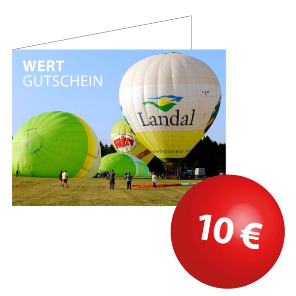Wertgutschein 10€