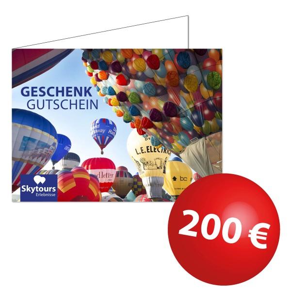 Wertgutschein 200€